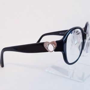 Coach 8051 Claire Black Frame RX Eyewear Glasses